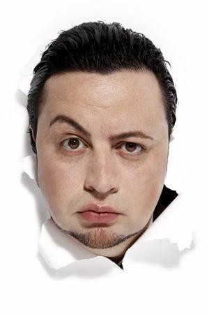 skepticism: Portrait of Man LANG_EVOIMAGES