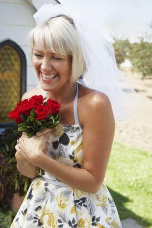 Portrait of Bride, Niagara Falls, Ontario, Canada