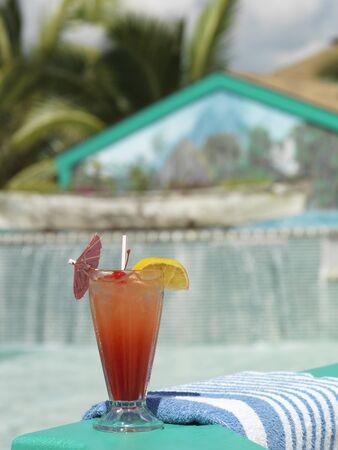 Drink by Pool, Costa Maya Resort, Belize LANG_EVOIMAGES