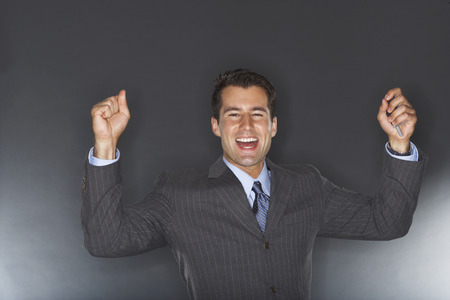 achievment: Portrait of Businessman