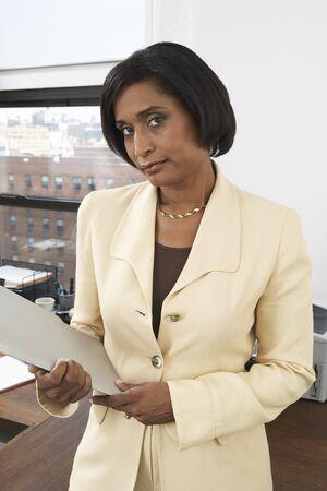 disapprove: Portrait of Businesswoman