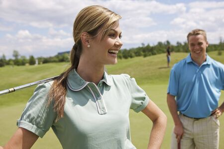 goodluck: Couple on Golf Course LANG_EVOIMAGES