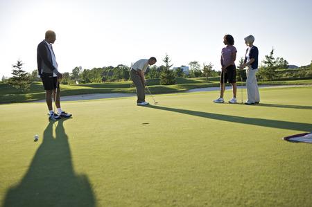 socialise: Friends Playing Golf, Burlington, Ontario, Canada