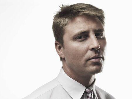skepticism: Portrait of Businessman