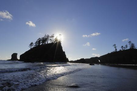 oceanic: Second Beach, Olympic National Park, Washington, USA
