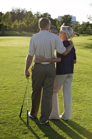 socialise: Couple on Golf Course, Burlington, Ontario, Canada