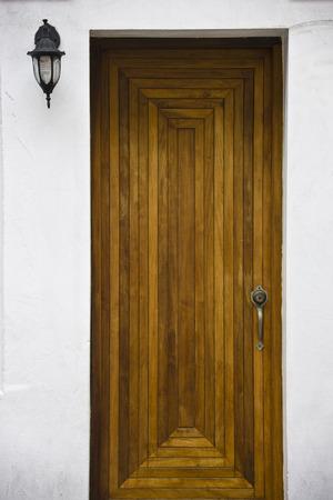 Close-up of Wooden Door, San Juan, Puerto Rico LANG_EVOIMAGES