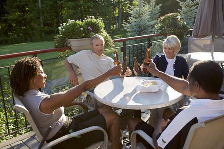 socialise: Friends at Country Club, Burlington, Ontario, Canada
