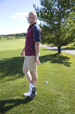 Golfer Cheating LANG_EVOIMAGES
