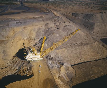 environmental issues: Black Coal Mining, Open Cut Coal Mine, Australia LANG_EVOIMAGES