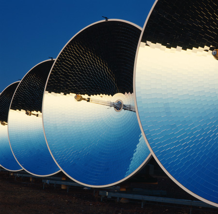 environmental issues: Parabolic Dish Collectors