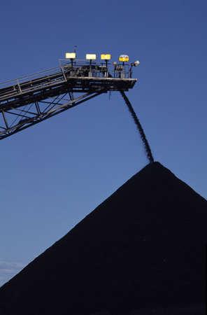 environmental issues: Black Coal Mining, Stockpiling Coal