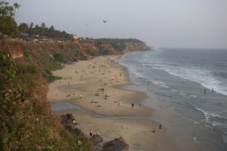 varkala: Varkala Beach, Varkala, Kerala, India LANG_EVOIMAGES