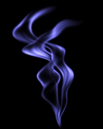 environmental issues: Close-up of Smoke Vapor Drifting through Air