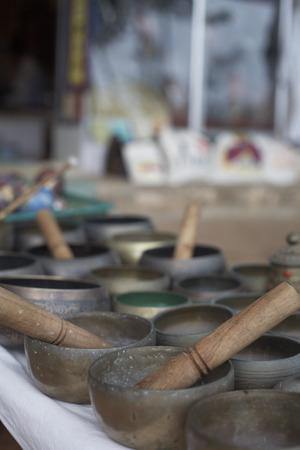 varkala: Shops at Varkala Beach, Varkala, Kerala, India LANG_EVOIMAGES