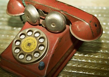 down beat: Old Toy Telephone