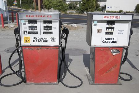 run down: Gas Pumps