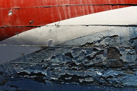 run down: Close-Up of Boat Hull, Newport, Rhode Island, USA