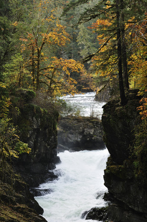 Stamp Falls, Stamp Falls Provincial Park, Vancouver Island, British Columbia, Canada