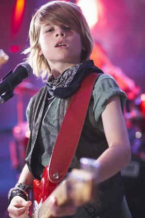 Boy in Rock Band