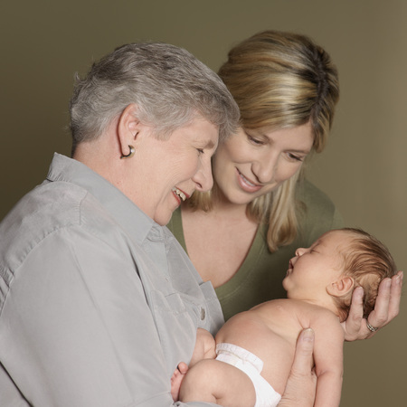 profile picture: Portrait of Mother and Grandmother With Newborn Baby