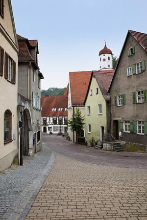 bayern old town: Romantic Road, Harburg, Donau-Ries, Bavaria, Germany