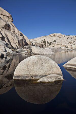 joshua tree national park: Rock, Joshua Tree National Park, California, USA