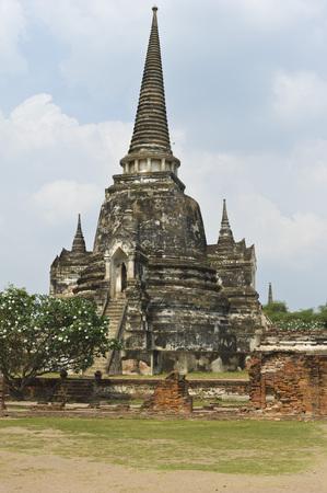 phra nakhon si ayutthaya: Wat Phra Sri Sanphet, Ayutthaya, Ayutthaya Province, Thailand LANG_EVOIMAGES