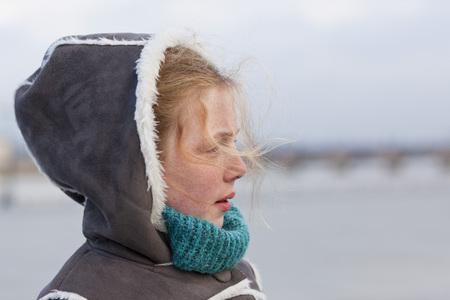 bordeaux region: Portrait of Girl, Bordeaux, Gironde, Aquitaine, France