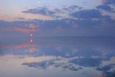captivation: Sunrise over Plauer See, Plau am See, Mecklenburg Lake District, Mecklenburg-Vorpommern, Germany