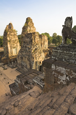 cambodge: 10th Century Khmer Temple of Pre Rup, Angkor, Cambodia