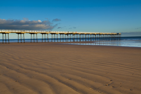 Victorian Pier, Saltburn-by-the-Sea, Redcar and Cleveland, North Yorkshire, Yorkshire, Yorkshire and the Humber, England