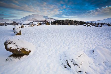 Castlerigg Stone Circle, Cumbria, North West England, England, United Kingdom LANG_EVOIMAGES