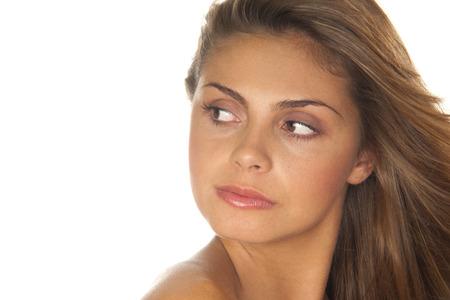skepticism: Portrait of Woman