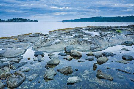 provincial tourist area: Gabriola Passage View From Drumbeg Provincial Park, Strait of Georgia, Gabriola Island, British Columbia, Canada