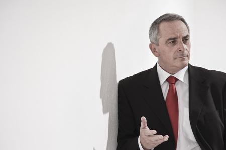 disapprove: Portrait of Businessman