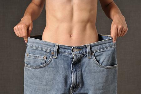 Boy Wearing Large Jeans LANG_EVOIMAGES