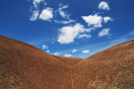 innuendo: Painted Hills, John Day Fossil Beds National Monument, Oregon, USA LANG_EVOIMAGES