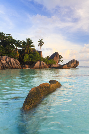 Granite Rock Formations, Anse Source dArgent, La Digue, Seychelles