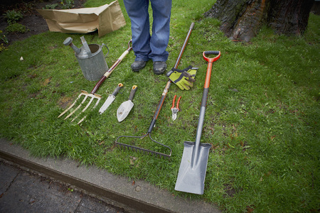 Gardening Tools, Ontario, Canada LANG_EVOIMAGES