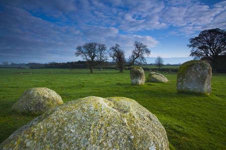 Long Meg and Her Daughters, Little Salkeld, Cumbria, England
