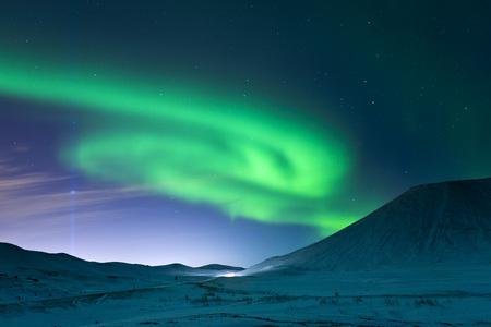 captivation: Aurora Borealis and Imagine Peace Tower, Videy, Kollafjordur Bay, Iceland