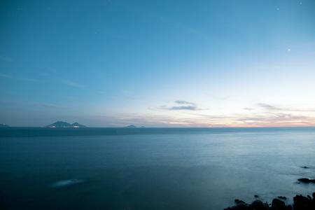 eolie: Salina Island from Ginostra,Stromboli Island,Aeolian Islands,Italy