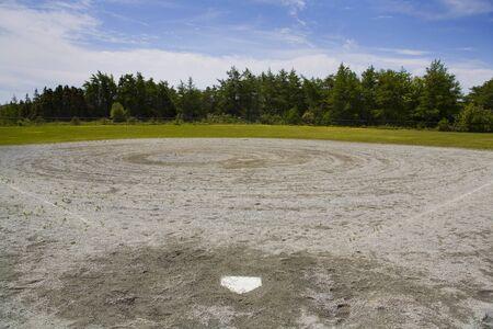 Empty Baseball Diamond,Truro,Nova Scotia,Canada LANG_EVOIMAGES