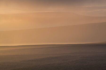 cumbria: Morning Mist and Fog,Alston Moor,Cumbria,North West England,England