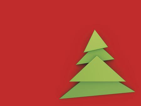 3d-Illustration of Christmas Tree