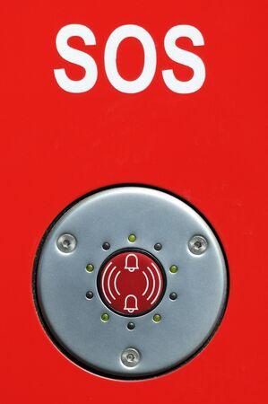 multilingual: SOS sign and SOS alarm, Berlin, Germany