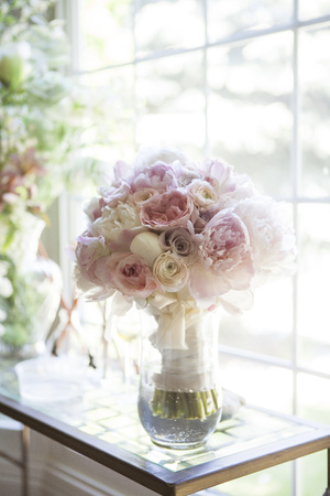 without windows: Bouquet of Flowers in Vase by Window, Toronto, Ontario, Canada