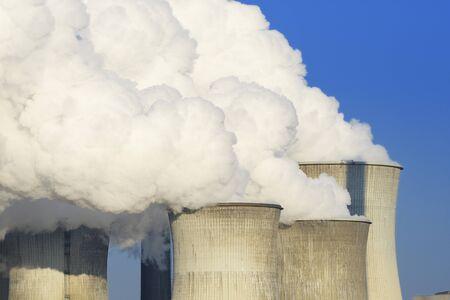 particulate: Neurath Power Station, North Rhine-Westphalia, Germany