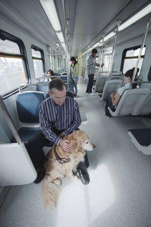 familiaris: Passengers on the Canada Line Rapid Transit System, Vancouver, British Columbia, Canada